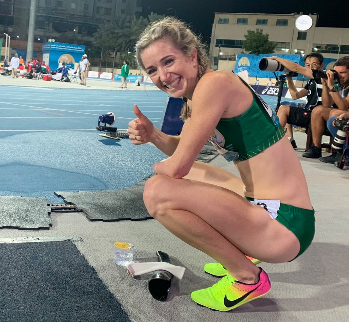 Anrune Weyers fights for para-athlete recognition