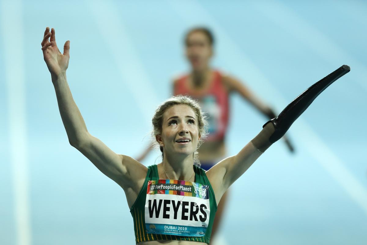 Dubai 2019: Anrune Weyers takes South Africa's first gold